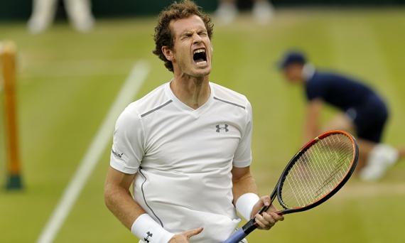 Уимблдон 2015: Энди Маррей при домашней поддержке сразится с Роджером Федерером