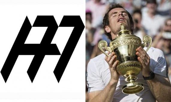 Энди Маррей представил свой собственный логотип
