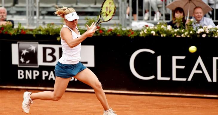Светлана Кузнецова переиграла Дарью Гаврилову в Риме
