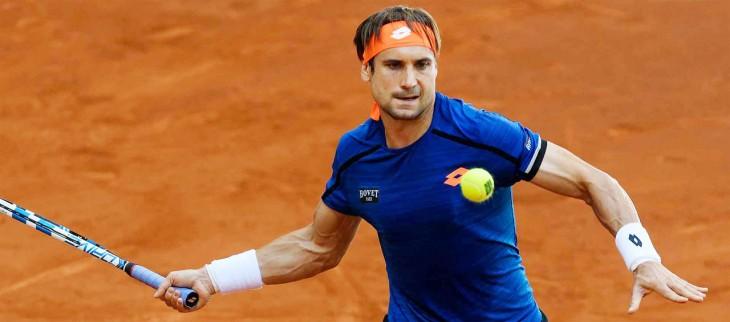 Давид Феррер прошел в третий круг на турнире ATP в Риме