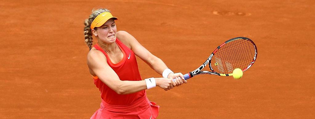 Эжени Бушар проиграла в 1/8 финала турнира WTA в Риме
