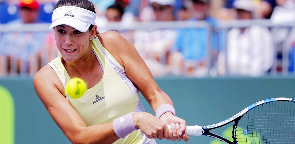 Гарбинье Мугуруса прошла в 1/4 финала турнира WTA в Риме