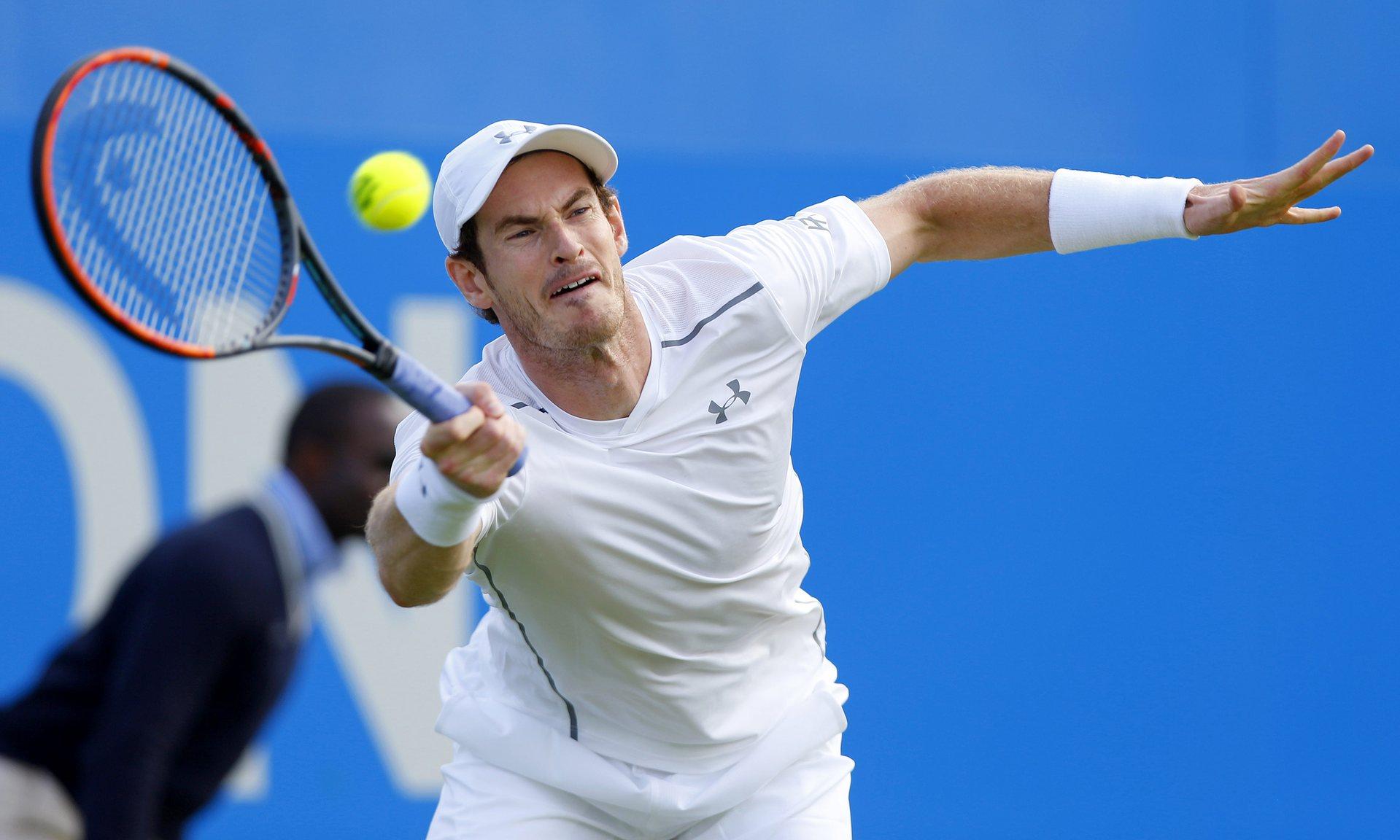 Энди Маррей выиграл первый матч турнира ATP в Лондоне