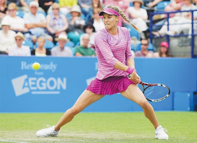 Эжени Бушар проиграла на турнире в Нидерландах