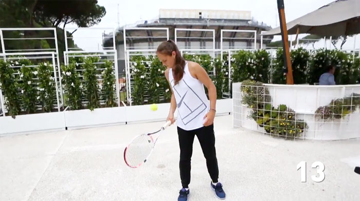 Дарья Касаткина приняла участиев конкурсе WTA Frame Challenge