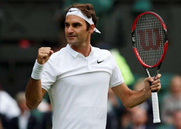 Роджер Федерер с победы стартовал на Уимблдоне
