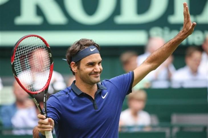Роджер Федерер вышел в полуфинал в Галле