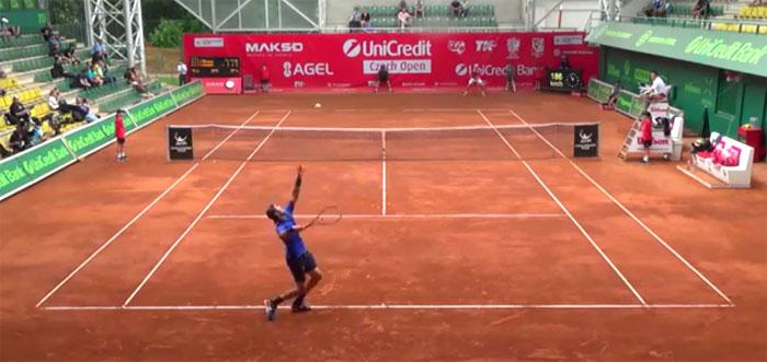 Полуфинальный матч Карена Хачанова на Челленджере в Чехии