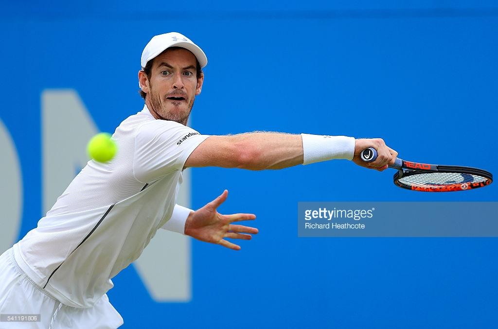Энди Маррей выиграл турнир в Лондоне