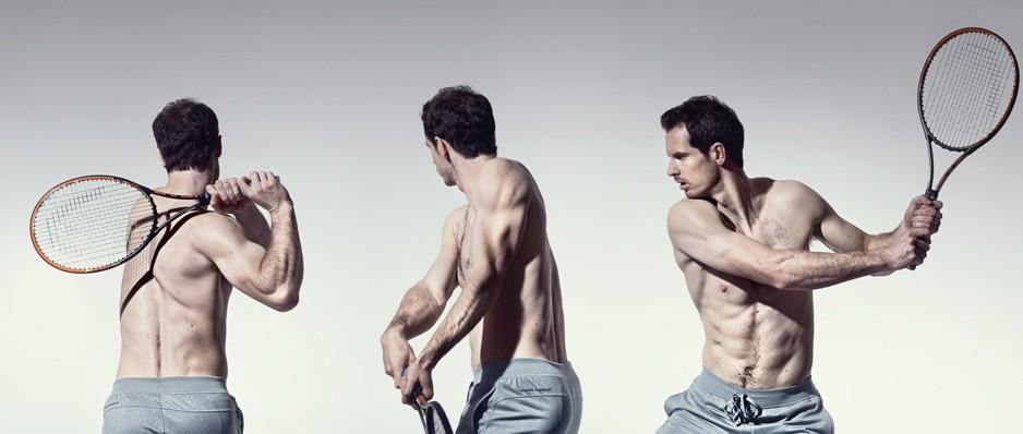 """Тренировка Энди Маррея в британском журнале """"Men's Health"""""""