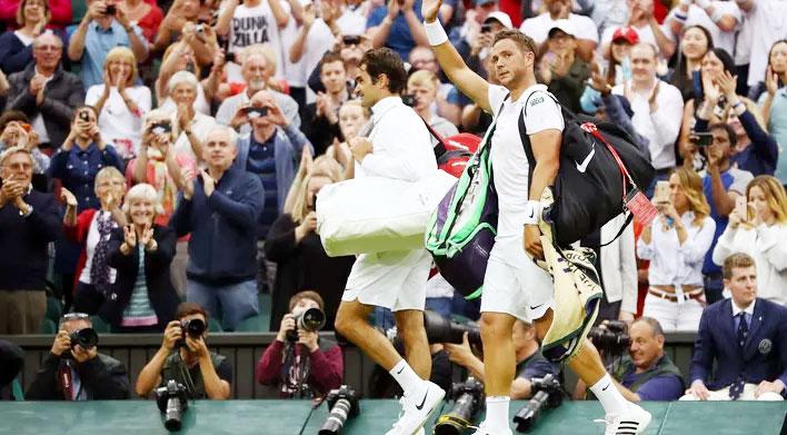 Маркус Уиллис проиграл Федереру, но заставил Мир улыбнуться