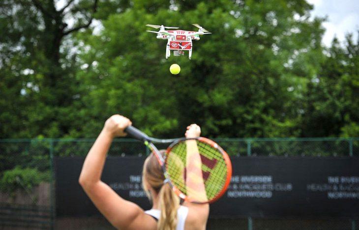 """""""Drone-ovic"""" поможет улучшить ваш теннис"""
