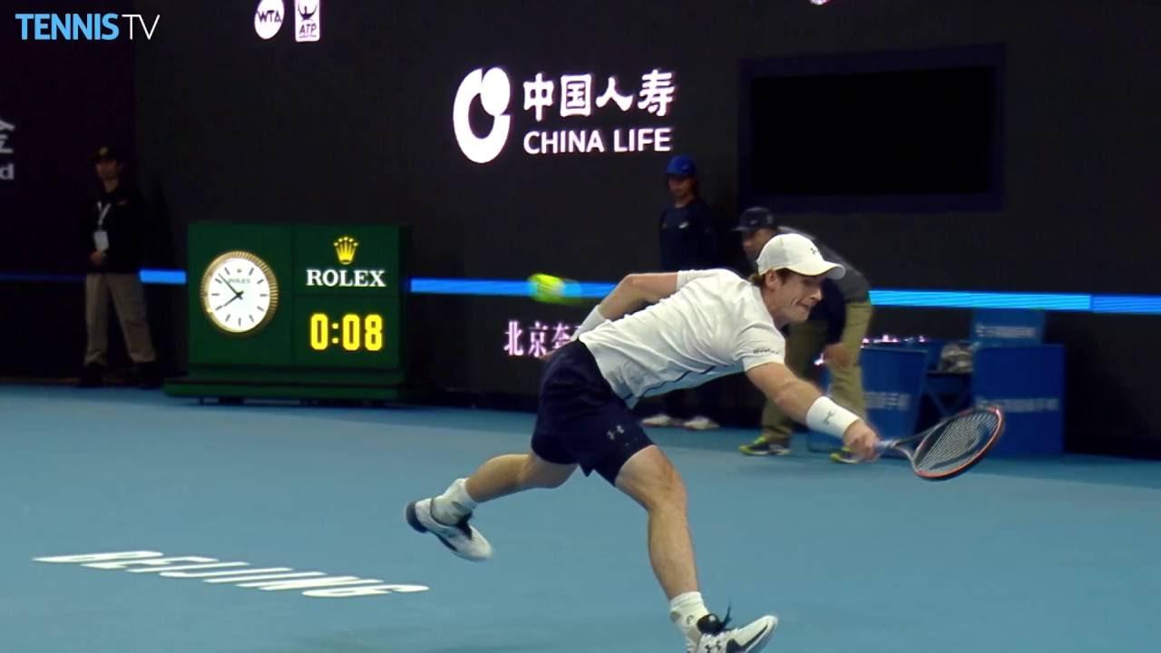 «Удар дня» от Энди Маррея в финале турнира в Пекине 2016