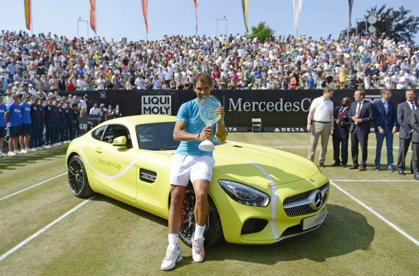 Mercedes Cup 2015 выиграл Рафаэль Надаль