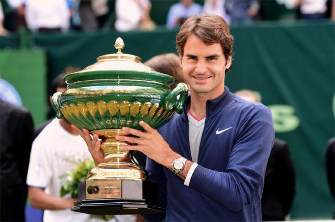 Роджер Федерер выиграл Gerry Weber Open в 2015 году