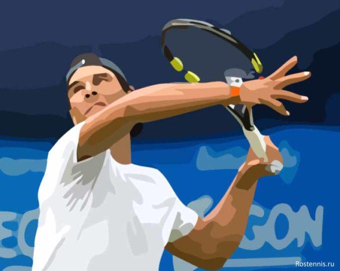 Как одолеть левшу на теннисном корте