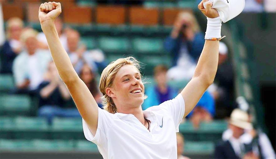 Денис Шаповалов - теннисист из канады