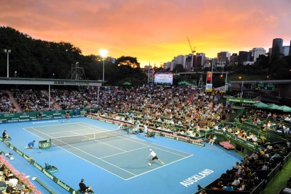 Мужской теннисный турнир в Окленде, Новая Зеландия